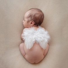 Beli Panas 12 Bulan Bayi Baru Lahir Bayi Lucu Bulu Sayap Malaikat Foto Fotografi Alat Peraga International Terbaru