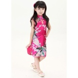 Model Hot Baru Bergaya Cina Anak Anak Gadis Bayi Cheongsam Dress Gaun Ys 4 12 Intl Terbaru