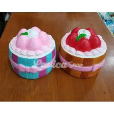 Jual Hot Sale Murah Squishy Licensed Strawberry Tart By Johwa Ufqkx9 Branded Original