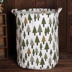 Hot Penjualan Balok Besar Laundry Keranjang Mainan Penyimpanan Pakaian Laundry Basket-Pohon-Intl