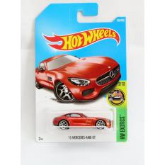 Hot Wheels '15 Mercedes AMG GT - merah