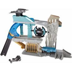 Diskon Hot Wheels Dc Character Car Playset The Bat Cave Hot Wheels