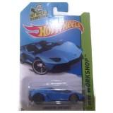 Hot Wheels Lambo Aventador Blue Indonesia Diskon 50