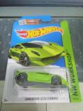 Jual Hot Wheels Lamborghini Sesto Elemento Green Original