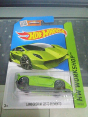 Toko Hot Wheels Lamborghini Sesto Elemento Green Terdekat
