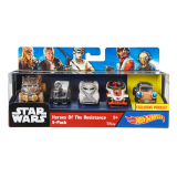 Beli Hot Wheels® Star Wars™ Heroes Of The Resistance 5 Pack Pakai Kartu Kredit