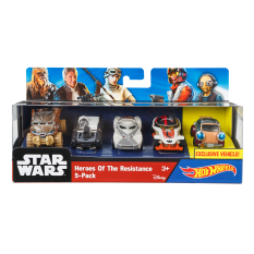 Miliki Segera Hot Wheels® Star Wars™ Heroes Of The Resistance 5 Pack