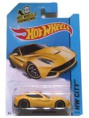 Hotwheels ferrari berlenita yellow