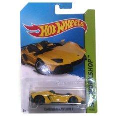 Toko Hotwheels Lamborgini Aventador Yellow Online Terpercaya