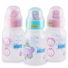 Jual Huki Paket Hemat Botol Susu 120Ml 3 Pcs Bsh005 Satu Set