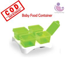 i-shop Baby Safe Multi Food Container / Baby Cubes / Baby Food Cubes / Penyimpan Makanan Bayi di Freezer / AP009