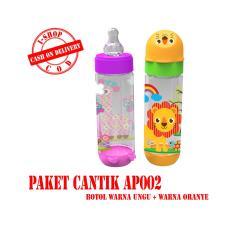 i-shop PAKET CANTIK Baby Safe Botol Susu Bayi 250 ml / Feeding Bottle 250ml