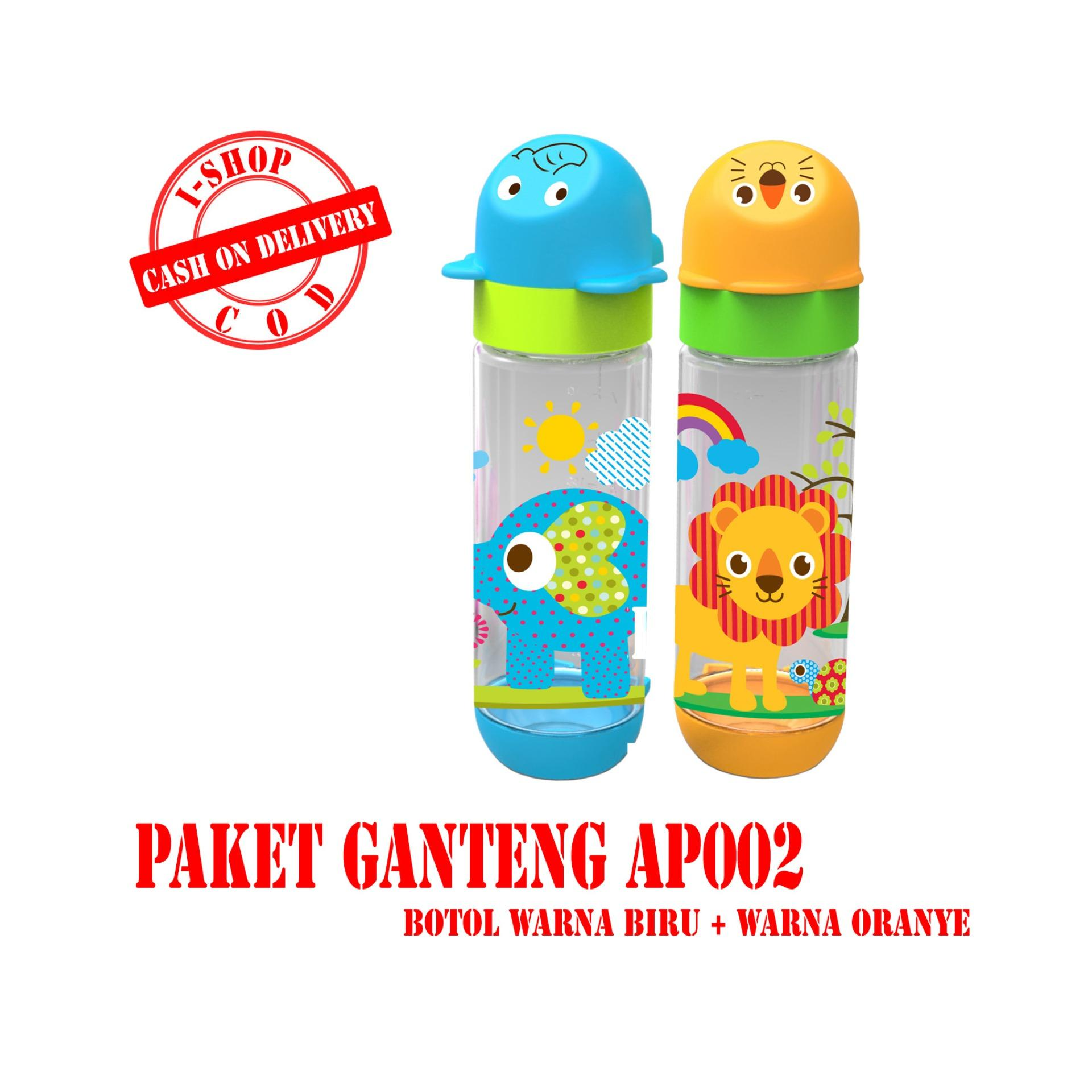 Pencarian Termurah i-shop PAKET GANTENG Baby Safe Botol Susu Bayi 250 ml / Feeding Bottle 250ml / Botol Susu Karakter Kepala Binatang / AP002 sale - Hanya ...