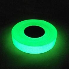 Ibelieve 1 Cm * 10 M Waterproof Self-Adhesive Menyala Dalam Gelap Safety Stage Home Decor Luminous Tape -Intl By Brave Boy66.