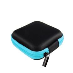Ibelieve Mini Earphone Penyumbat Telinga Tas Headphone Koin Dompet Kabel Kabel USB Kotak Penyimpanan-Internasional
