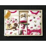 Diskon Produk Igloo Baby Set Gift Set Motif Tupai Pink