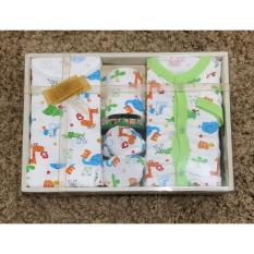Review Terbaik Igloo Baby Set Gift Set Set Pakaian Bayi Motif Printing 03 Hijau