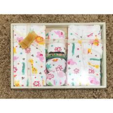 Harga Igloo Baby Set Gift Set Set Pakaian Bayi Motif Printing 05 Putih Original