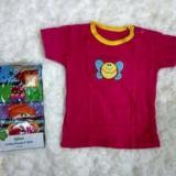 Tips Beli Igloo Short Tee Kaos Kancing Pundak Baby Cewek 5 In 1 Uk 24 Bulan