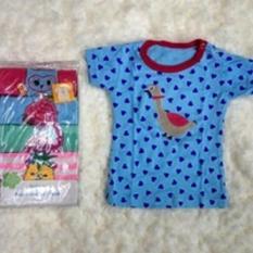 Jual Igloo Short Tee Kaos Kancing Pundak Baby Cewek 5 In 1 Uk 6 Bulan Branded Murah