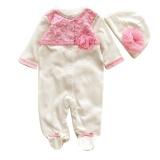 Beli Igm Bayi Yang Baru Lahir Baby Girls Cap Hat Romper Bodysuit Pakaian Bermain Pakaian Set Pakaian Putih Intl Kredit Hong Kong Sar Tiongkok