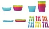 Beli Ikea Kalas Set Peralatan Makan Anak 36 Pcs Baru