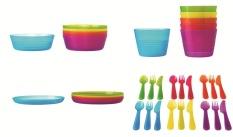 IKEA Kalas - Set Peralatan Makan Anak 36 Pcs
