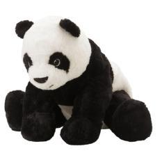 IKEA KRAMIG - Panda Soft Toy - Boneka Panda - 30 Cm - Hitam Putih - 1 Pc