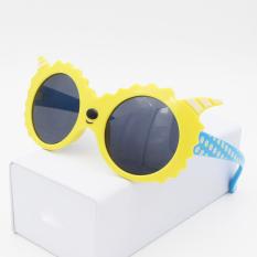 Model Baru Korea Selatan Imut Kartun Anak-Anak Sun Kacamata Pria Dan Wanita Anak Pasang Perlindungan Uv Kacamata Hitam Anak Kepribadian Kacamata By Koleksi Taobao.