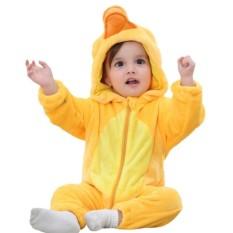 Harga Bayi Baju Monyet Bayi Boys Girls Jumpsuit Baru Lahir Flanel Hoodie Kostum Pakaian Balita Kartun Piyama Intl Oem Baru