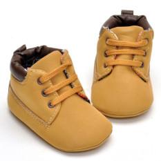 Promo Toko Sepatu Anak Bayi Balita Bayi Baru Lahir Mengenakan Satu Dia Her Soft Coklat Hangat