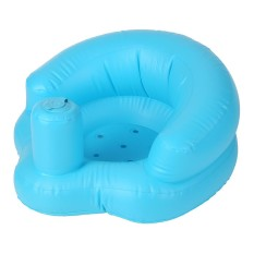 Inflatable Baby Kursi Sofa Anak-anak Portable Safety Training Seat Pushchair untuk Bermain Mandi Lantai Beach Poolside PVC Hijau-Intl