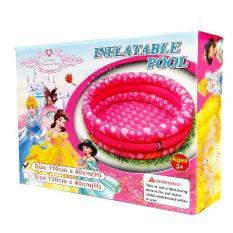 Jual Inflatable Pool Disney Princess Dream Pink 110Cm Kolam Renang Anak Bak Mandi Pompa Inflatable Pool