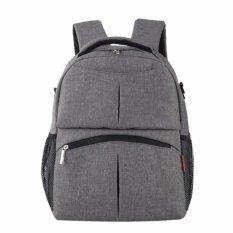 Penawaran Istimewa Insular Diaper Bag Berkualitas Tinggi Mommy Maternity Nappy Bag Untuk Bayi Besar Kapasitas Ibu Backpack Denim Bahan Stroller Bag Intl Terbaru