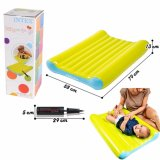 Diskon Intex 48422 Kasur Angin Baby Pompa Baby Bed Change Mat Set With Manual Pump Branded