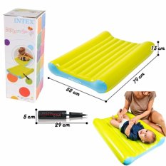 Beli Intex 48422 Kasur Angin Baby Pompa Baby Bed Change Mat Set With Manual Pump Lengkap