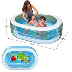 Jual Intex 57482 Oval Whale Fun Swiming Pool Kolam Renang Anak Transparan Intex Online