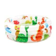 Intex Baby Swim Pool Dino Putih Kolam Renang Anak Pompa 57106 Promo Beli 1 Gratis 1