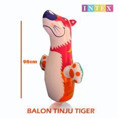 Intex Balon Tinju / Sansak Balon Tinju / Inflatable Punching Boxing - Motif Tiger