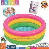 Harga Intex Kolam Renang Anak Bayi Baby 61 X 22Cm Repair Kit Lem Kolam Pelangi Sunset Glow Baby Pool 57402 Banten