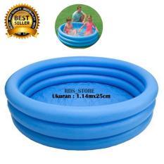 Spesifikasi Intex Kolam Renang Anak Crystal Blue Pool 3 114 X 25 Cm Yang Bagus Dan Murah