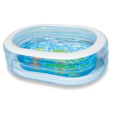 Ulasan Intex Kolam Renang Anak Oval Transparent Water Pool Child 57482