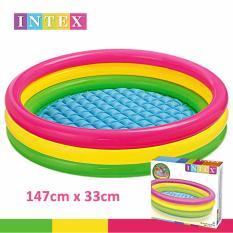 Katalog Intex Kolam Renang Pelangi Anak Uk 147 X 33 Cm Intex Terbaru
