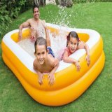 Jual Beli Online Intex Mandarine Swim Center Family Pool 57181Np