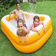 Spesifikasi Intex Mandarine Swim Center Family Pool 57181Np Bagus