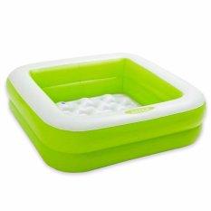 Spesifikasi Intex Play Box Pools Kotak Hijau Kolam Renang Bak Mandi Anak 57100 Yang Bagus