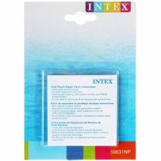 Intex Vinyl Plastic Repair Patch. Stiker Lem Tambal Pelampung Kolam Renang Mainan Angin