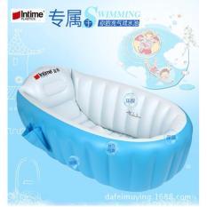 Harga Intime Bak Mandi Angin Khusus Bayi Portabel Aman Untuk Rekreasi Dan Rumah Portable Baby Bath Tub Origin