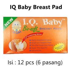 IQ Baby Breast Pad Penyerap Asi / Breastpad - Isi 12pcs