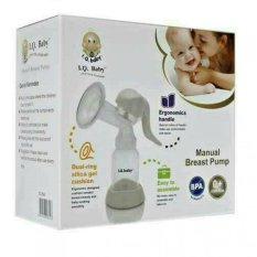 Jual Iq Baby Pompa Asi Manual Breast Pump Breastpump Manual Ergonomics Putih Grosir